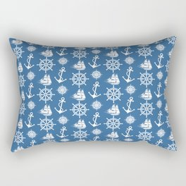 Sailor's Dream Anchors Aweigh Rectangular Pillow
