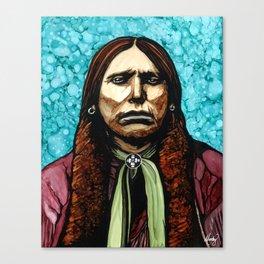 Kwihnai (Quannah Parker Portrait) Canvas Print