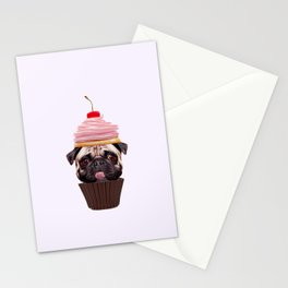 Pup Cake Stationery Cards