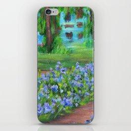 Monet's Garden AC20110715a iPhone Skin