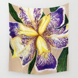 Bearded Iris Wall Tapestry