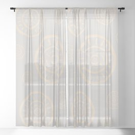 Soft and Easy Sheer Curtain