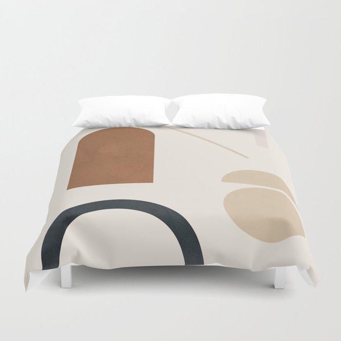 Geometric Modern Art 32 Duvet Cover