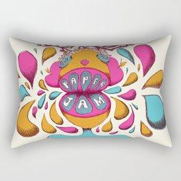 Paper Jam Poster Rectangular Pillow