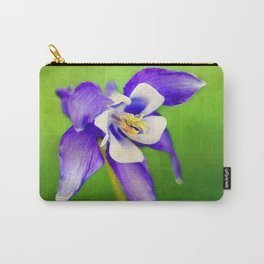 Spring Columbine Carry-All Pouch