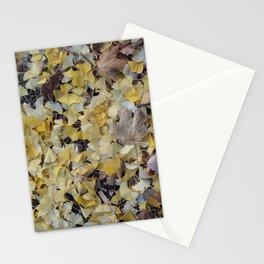 ginkgo gold Stationery Cards
