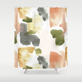 Great New Heights Abstract Shower Curtain