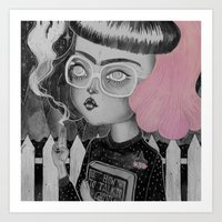 loll3 Art Prints featuring Strange and Unusual by lOll3