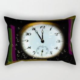 Time passes like soap bubbles Rectangular Pillow