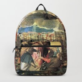 Paolo Veronese - Allegory of the Battle of Lepanto Backpack