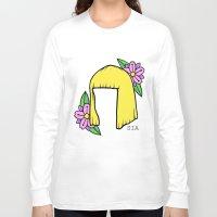 sia Long Sleeve T-shirts featuring SIA BOB by Melina Espinoza