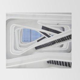 Zaha H A D I D | architect | Dominion Office Building Throw Blanket
