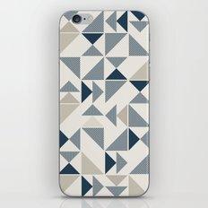Geometric triangle pattern iPhone & iPod Skin
