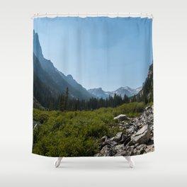 Cascade Canyon, Grand Teton National Park Shower Curtain