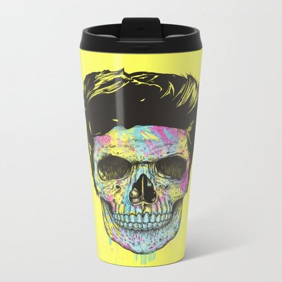 Color your death Metal Travel Mug