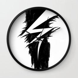 Lightning Arts Logo Wall Clock