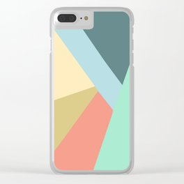 Angles Clear iPhone Case