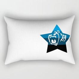 Quad Cali Blue Rectangular Pillow
