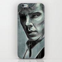 cumberbatch iPhone & iPod Skins featuring Benedict Cumberbatch by Schwebewesen • Romina Lutz