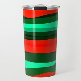 Waves 3 Travel Mug