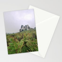 Megalith from the earth of Sicily Stationery Cards