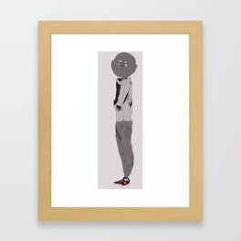 One Lonely Hipster Framed Art Print