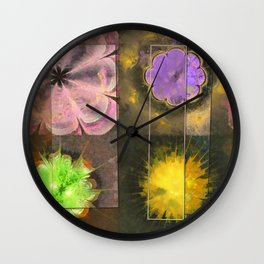 Bastiment Concord Flower  ID:16165-003155-40511 Wall Clock