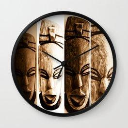 mother earth ancient goddess Wall Clock