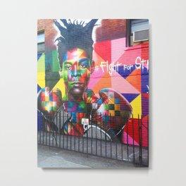 124. Fight for Street, New York Metal Print