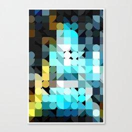 IceBlu Canvas Print