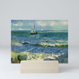 Seascape at Saintes Maries Mini Art Print