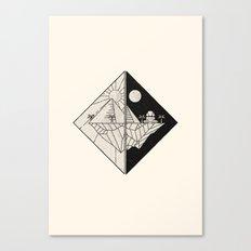 Magicians of the Gods Canvas Print
