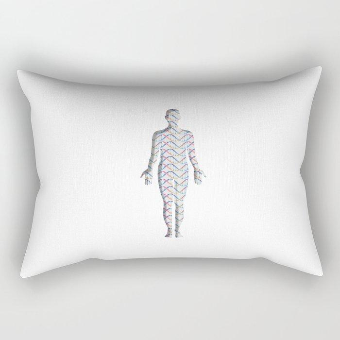 DNA_Whole body Rectangular Pillow