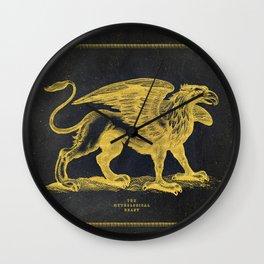 The Mythological Beast Wall Clock