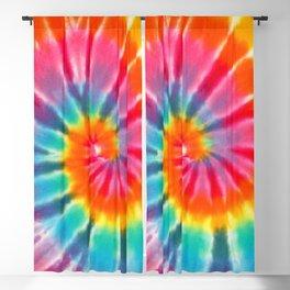 tye dye 6 Blackout Curtain