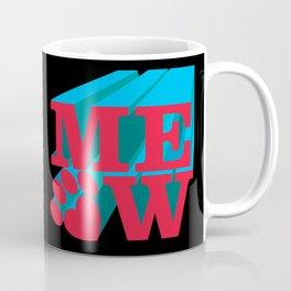 MEOW paw Coffee Mug