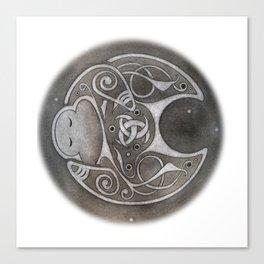 Norse Moon Canvas Print