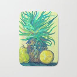 Pear and Pineapple Bath Mat