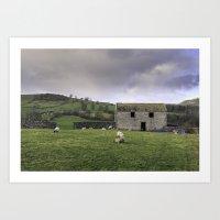 Yorkshire Dales Art Print
