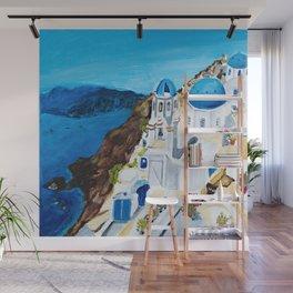 Santorini Wall Mural