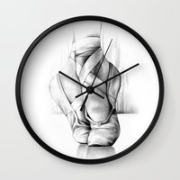 ballet Wall Clocks featuring Ballet by Andreas Derebucha