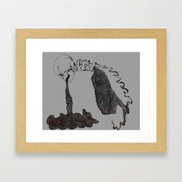 Rotten Framed Art Print