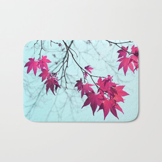 Maple Tree Stars Bath Mat
