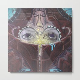 Ancient Traveler Metal Print