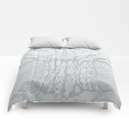 M.A.D. (gray) Comforters
