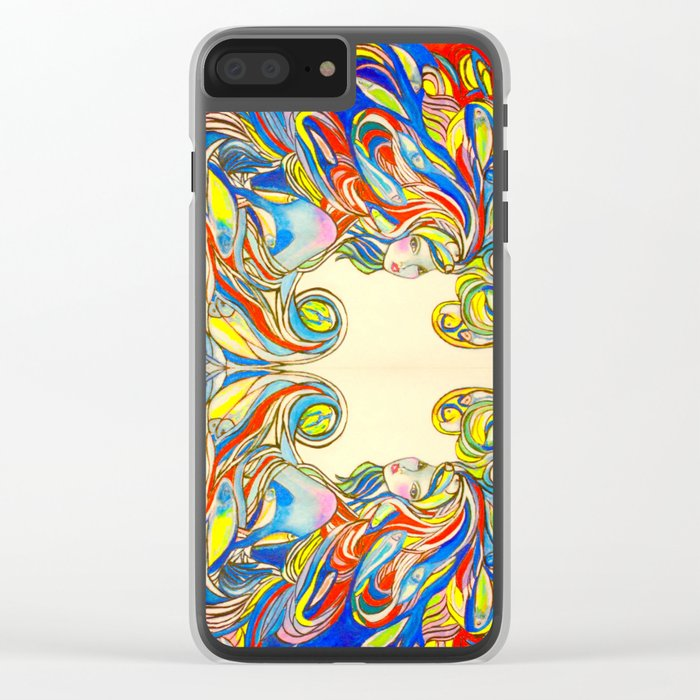 By Your Side  #society6 #decor #buyart Clear iPhone Case