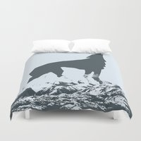 canada Duvet Covers featuring Visit Canada by ahutchabove