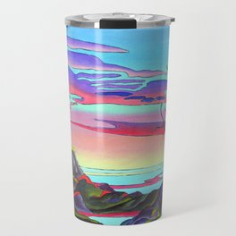Pacific Pacific by Amanda Martinson Travel Mug