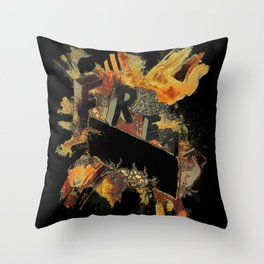 Freak! Throw Pillow