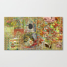 Prioritizing the Preservation of Favoured Struggles: Our Mesmerizing Bucket of Worms Canvas Print